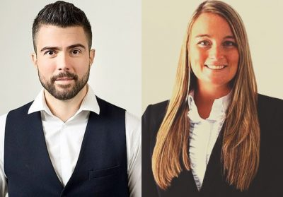 Emilio Huelga and Helen Stone-Ward